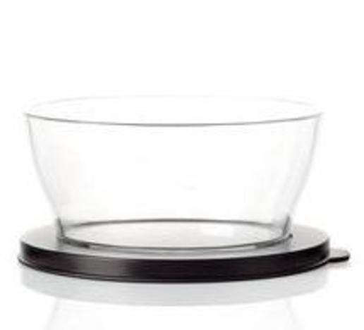 Tupperware M 95 Clear Line 990 ml Schwarz
