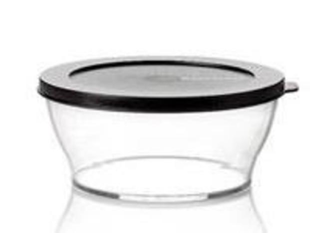 Tupperware M 93 Clear Line 290 ml Schwarz
