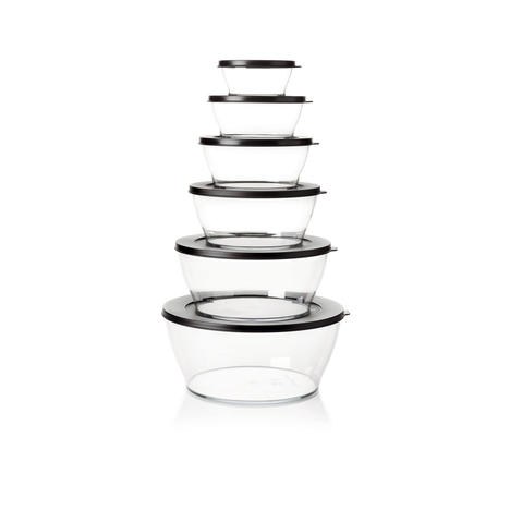 Tupperware S891 Clear Line Set (6 Stk.)