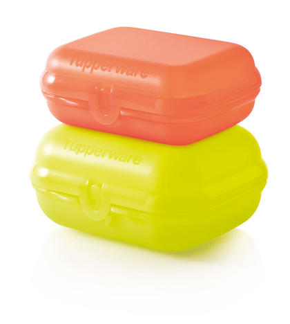 Tupperware S894 Eco+ Lunchbox-Duo